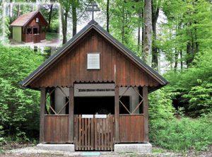 Maria Hilf Kapelle im Dürnbucher Forst